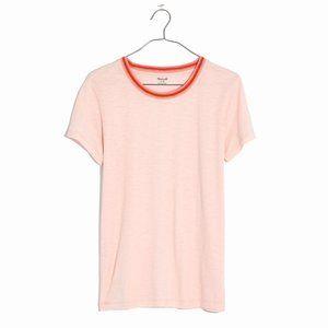 Madewell Ringer Whisper Cotton Blossom Tee T-Shirt